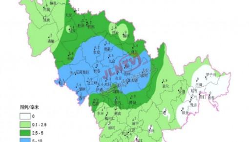 截至28日17时 全省平均降雪2.8毫米 夜间有大到暴雪