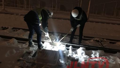 启动暴雪应急预案 保障长春轨道交通安全畅通