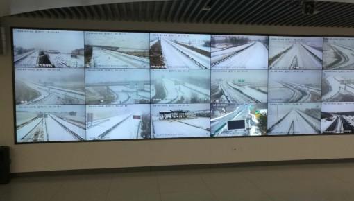 高速公路公安局多措并举积极应对新一轮强降雪