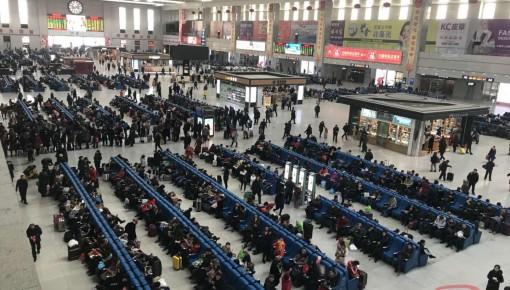 【出行】降雪导致长春站短途旅客激增