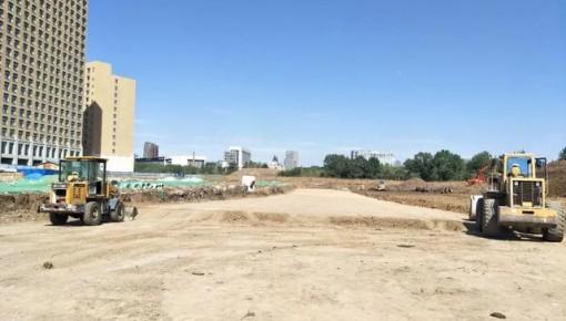 长春景阳大路西延长线部分段开工,预计10月30日竣工!