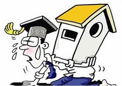 超八成毕业生期望房租二千元以内 多倾向公司附近租房