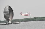 """中国自主轻型运动飞行器""""风翎号""""完成首飞,上海通航制造业实现新突破"""