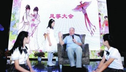 作家刘心武写下千万字作品 始终保持时代发声者的姿态