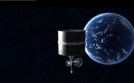 风云二号H星顺利到达东经79度 获得清晰地球全圆盘图