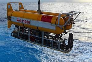 """5630米!""""海龙11000""""创我国无人有缆潜水器深潜纪录"""