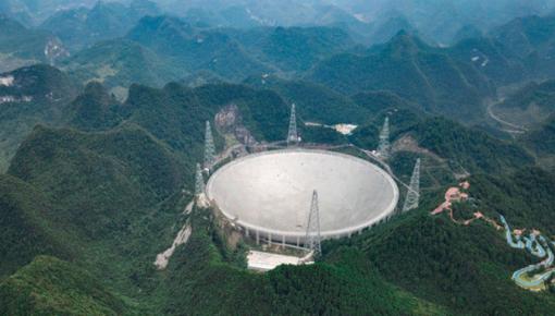 """""""中国天眼""""上岗两年 共发现44颗新脉冲星"""