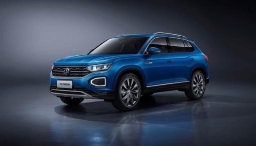 """一汽-大众旗下第二款SUV车英文名叫""""TAYRON""""  9月19日发布"""