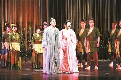《诗经》题材音乐剧首现舞台 著名作曲家邹航为其编曲