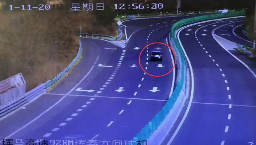监控视频|双11冷汗大礼包到货!高速路上逆向行驶 要不得!