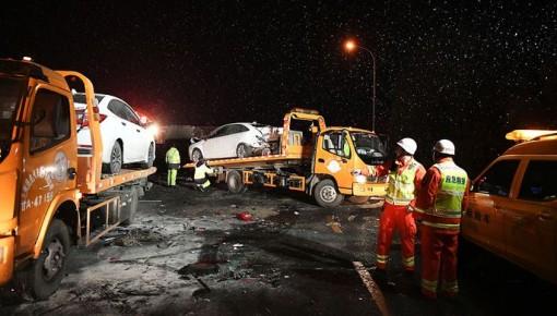 """兰州""""11·3""""重大道路交通事故28名伤者已离院和出院 事故调查正在进行中"""