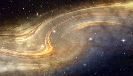 科学家称银河系边缘隐藏巨大幽灵星系