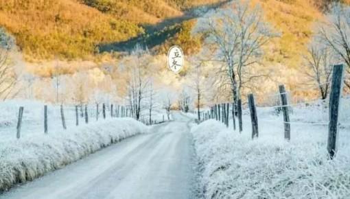 今日立冬!无论天气多冷,对你的爱依然炽热