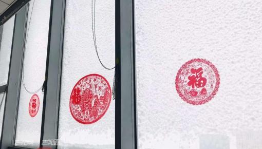 好嗨哦!下雪啦,下雪啦!