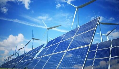 中国首个大型平价上网光伏项目并网发电