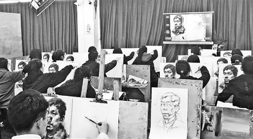2019年艺考季大幕开启 美术高考竞争更加激烈