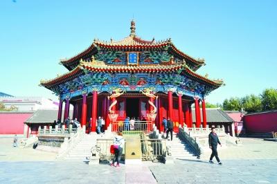 建筑彩画修复历时九个月,沈阳故宫大政殿重现往昔神韵