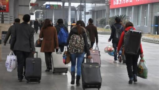 28日全国铁路预计发送旅客1061万人次,加开旅客列车927列