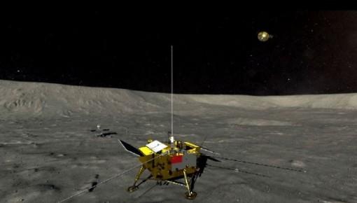 """""""嫦娥""""成功落月 """"鹊桥""""功不可没"""