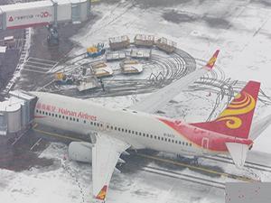 受降雪影响首都机场部分航班取消 请合理安排出行