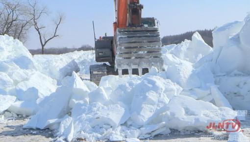 再见了雪季!净月雪世界正在陆续拆除中