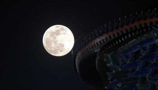 今年最后一次超级月亮3月20日登场!小行星将同时划过夜空