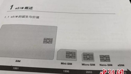 eSIM可全国开通!与SIM卡有啥不同,资费一样吗?