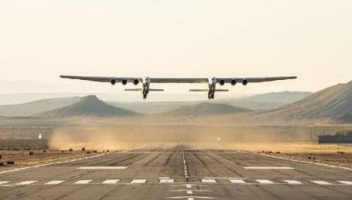 世界最大飛機順利完成首次試飛 翼展約117米