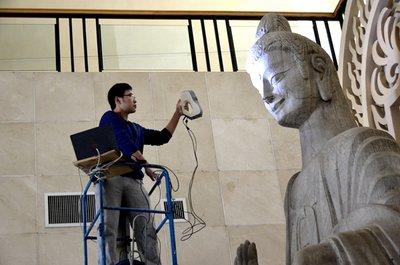 """激光扫描、3D打印、VR体验……数字化技术能否让文物""""永生""""?"""