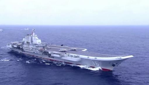 震撼!首艘國產航母第五次海試 大量內部畫面公開