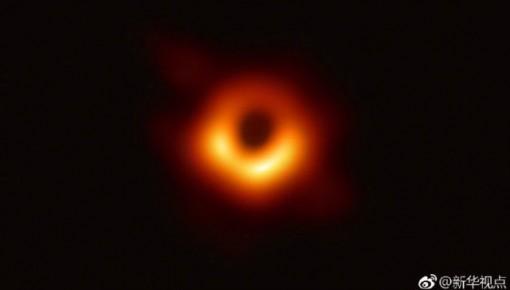 人類史上首張黑洞照片來了!