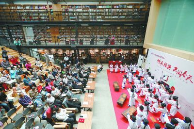 全国首家共享藏书楼运营 市民珍贵图书可托管