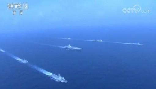 ?人民海軍從戰火中走來 向深藍駛去