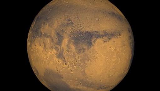 """科学家:火星或曾是类似地球的蓝色""""水世界"""""""