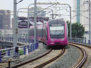 长春轻轨、地铁新增站内换乘站 部分轻轨站改名