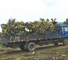 共享单车当废铁卖?ofo回应:已达到报废年限