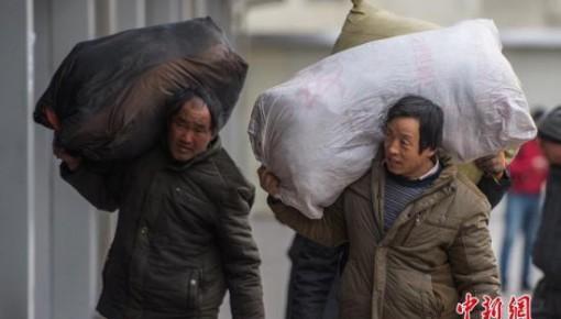 """2亿农民工10年迁徙图:""""中西飞""""成大势 进城者减少"""