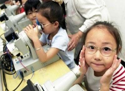 眼科专家为保护儿童视力支招:间断用眼、定期检查视力