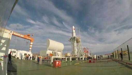 """中国首次海上发射成功!""""万博手机注册一号""""在轨卫星已达13颗"""
