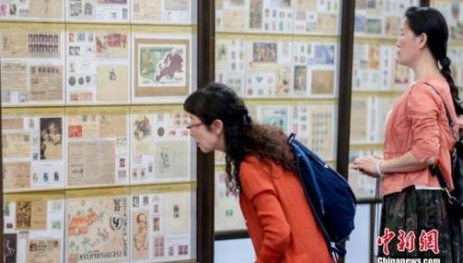 2019世界邮展:方寸邮票见证新中国70年