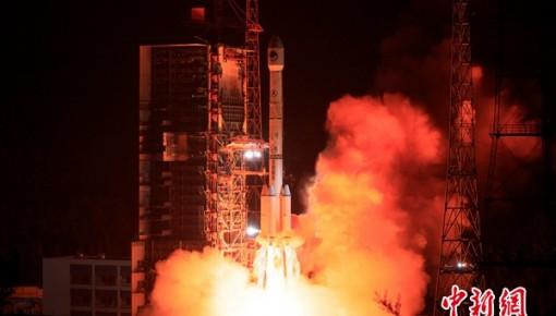 中國成功發射第46顆北斗導航衛星