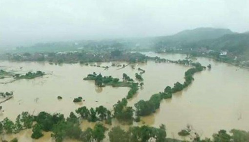 水利部:入汛以来全国377条河流发生超警以上洪水