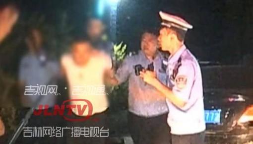 视频丨醉驾男子疯狂逃窜 撞击警车8次