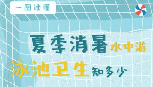 【一图读懂】夏季消暑水中游泳池卫生知多少