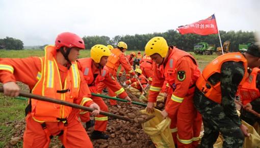 入汛以来全国消防救援队伍参加抗洪抢险2536起