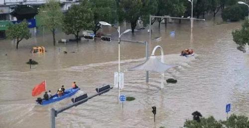 洪水逐渐退去,太阳照常升起——浙江台风受灾群众积极开展灾后自救见闻