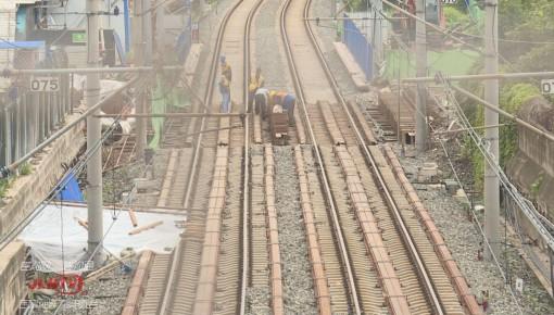 长春轨道交通2、3号线换乘通道因施工暂时封闭