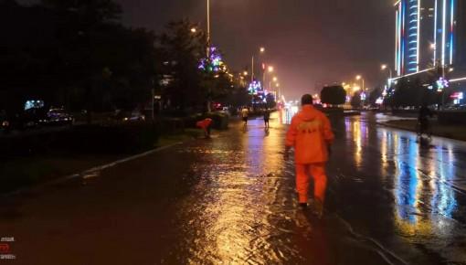 """珲春市全力迎战台风""""罗莎"""" 全面启动应急预案"""