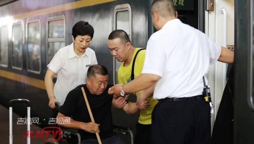 强降雨致沈吉线铁路区间封闭 276名旅客滞留口前站