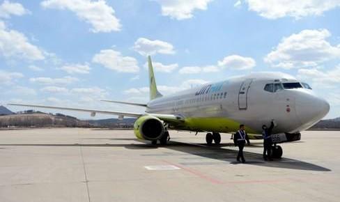 延吉至首尔(仁川)、延吉至务安国际定期航线正式开通